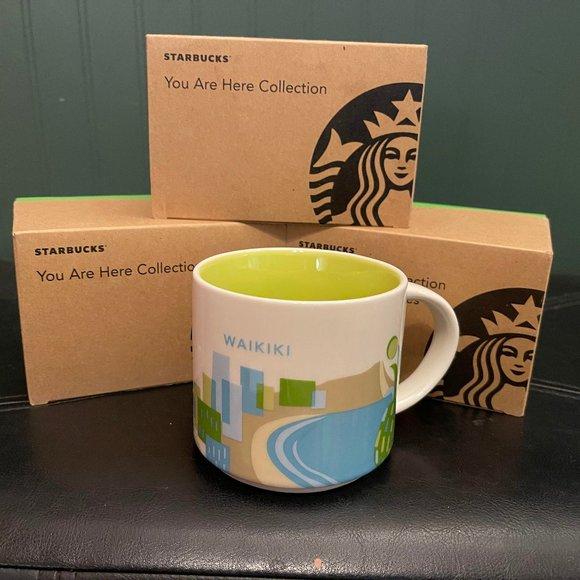 "Starbucks "" You are here collection"" WAIKIKI"